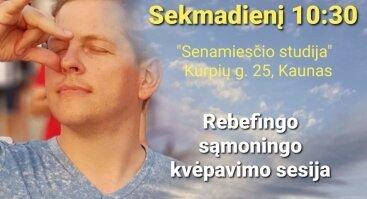 Rebefingo-kvėpavimo sesija Kaune