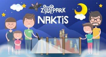 Paslaptinga naktis Zoopark Vilniuje