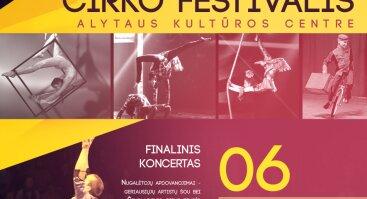 X-asis tarptautinis Alytaus cirko festivalis-konkursas (perkeltas)