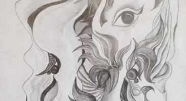 """Lino Rimkaus piešinių paroda """"Krantas. Grafinė Mandala ir Vidinė imperija"""""""