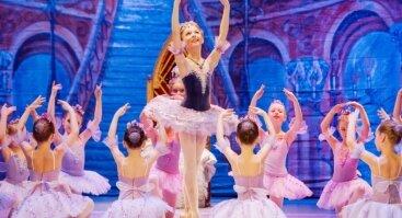 """Nuostabusis vaikų baleto spektaklis """"Miegančioji gražuolė"""""""