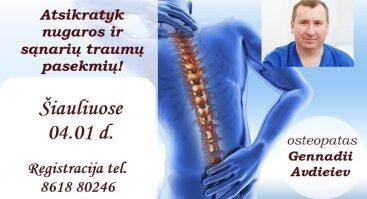 Gerai Kūno Savijautai: Osteopatija!