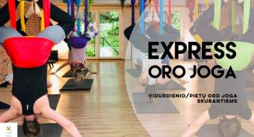 Express Oro joga | Atvira pamoka visiems skubantiems