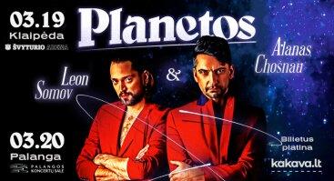 Leon Somov & Alanas Chošnau. Planetos