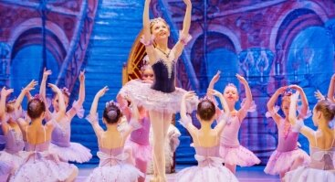 """Nuostabusis vaikų baleto spektaklis """"Miegančioji gražuolė"""" bus pristatytas Vilniuje!"""