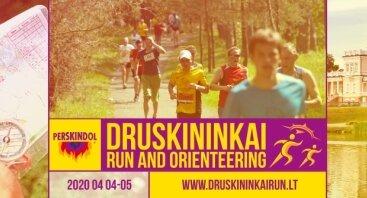 Perskindol Druskininkai RUN and Orienteering