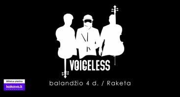 Voiceless koncertas I Raketa