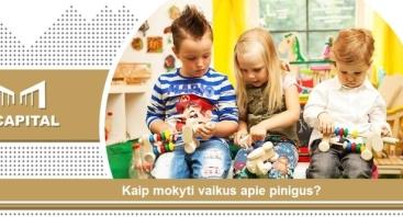 """Seminaras Internetu: """"Kaip mokyti vaikus apie pinigus?"""" Kaunas"""