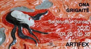 ONA GRIGAITĖ | SAULĖLYDIS | 2020 04 29 – 05 30