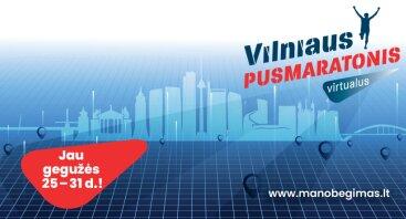 Virtualus Vilniaus pusmaratonis 2020