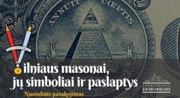 Masonų gyvenimai, simboliai ir paslaptys:nuotolinis pasakojimas