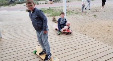 Dieninė Banglenčių stovykla vaikams ir jaunimui Klaipėdoje