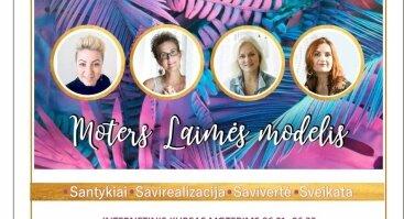 Moters Laimės modelis. Internetinis kursas