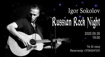 Igor Sokolov Russian Rock Night