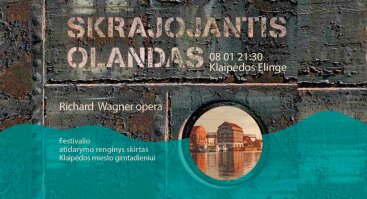 "Opera R. Wagner ""Skrajojantis Olandas"""