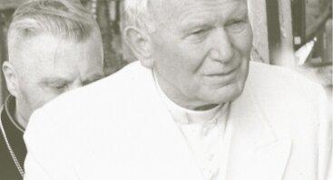 """Paroda """"XX amžiaus šventasis Jonas Paulius II"""""""