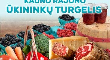 Naujas Kauno rajono ūkininkų turgelio atidarymas
