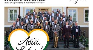 """Akcija """"Ačiū, Lietuva"""" su Šiaulių pučiamųjų orkestru"""