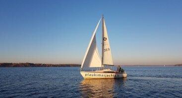 Pasiplaukiojimas jachta po Kauno marias grupei