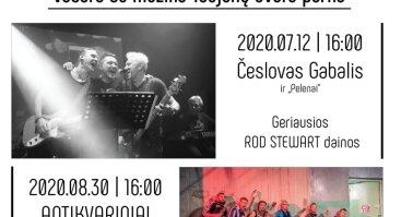 Geriausios Rod Stewart dainos su Česlovu Gabaliu |Taujėnų dvaras