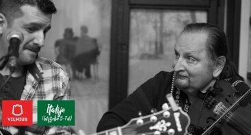 Mario Di Pasquale ir Algirdas Klova #ItališkaMuzika