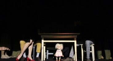 """Virtualus lėlių teatro spektaklis """"M♥Š"""""""