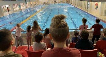 Vasaros plaukimo stovykla vaikams Girstučio baseine!