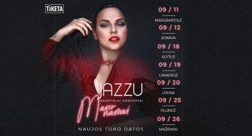 """Jazzu """"Mano namai"""" koncertinis turas"""
