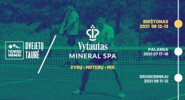 """Teniso turnyras """"Vytautas Mineral SPA turnyras 2021"""""""