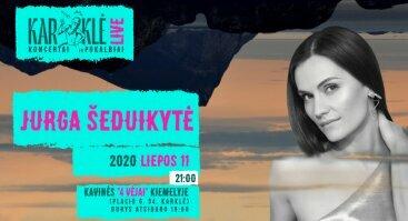 Karklė LIVE: Jurga (albumo pristatymo koncertas)