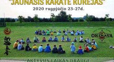 """Vaikų vasaros stovykla """"Jaunasis Karate Kūrėjas"""""""