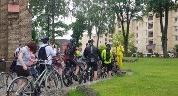 Nemokama ekskursija dviračiais: Žirmūnų spindesys ir smarkiai besikeičianti kasdienybė