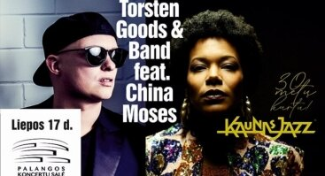KAUNAS JAZZ 2020: TORSTEN GOODS & BAND ir CHINA MOSES