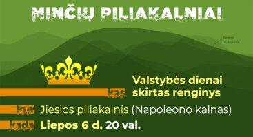 Valstybės diena ant Jiesios piliakalnio (Napoleono kalno)