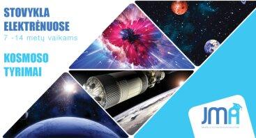 """Dienos stovykla """"Kosmoso tyrimai"""" Elektrėnuose"""