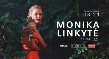 Monika Linkytė akustiškai l Kaunas