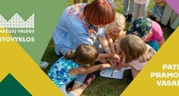 Pusdienio darželio STOVYKLA Grand Resort (1-3 metų vaikams su lydinčiu asmeniu)