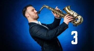 Saksofonisto Roko Barzdžiaus koncertas