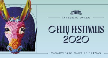 """Pakruojo dvaro gėlių festivalis """"Vasarvidžio nakties sapnas 2020"""""""