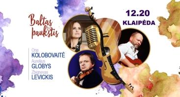 """BALTAS PAUKŠTIS""  O. KOLOBOVAITĖ, Z. LEVICKIS, A. GLOBYS"