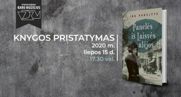 """Karo muziejuje – Inos Pukelytės knygos """"Panelės iš Laisvės alėjos"""" pristatymas"""