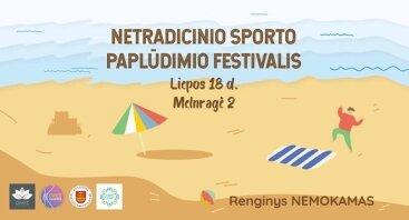 Netradicinio sporto paplūdimio festivalis