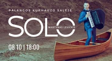 MARTYNAS LEVICKIS. SOLO | PALANGA