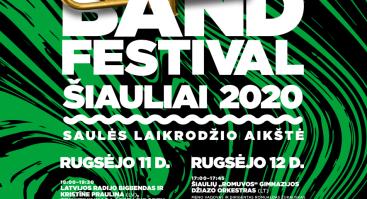 Big Band Festival Šiauliai 2020 | Saulės laikrodžio aikštė (Antra diena)