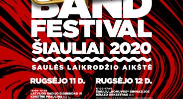 Big Band Festival Šiauliai 2020 | Saulės laikrodžio aikštė (Pirma diena)