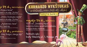 """Rugsėjį sugrįžta festivalis """"Kurhauzo nykštukas"""""""