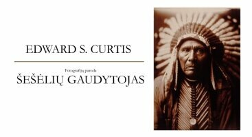 """Atidaroma Edwardo Sheriffo Curtiso fotografijų paroda """"Šešėlių gaudytojas"""""""