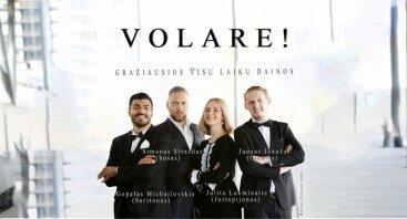 Koncertas VOLARE! Gražiausios visų laikų dainos