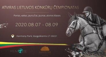 Atviras Lietuvos Konkūrų Čempionatas 2020 HARMONY PARK (antroji savaitė)