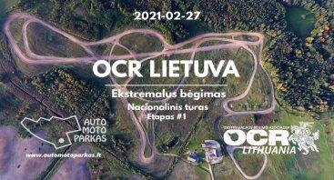 2021-02-27 OCR Lietuva. Ekstremalus bėgimas. Auto Moto Parkas